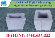 Gạch Block là gì? Nó được ứng dụng như thế nào trong đời sống